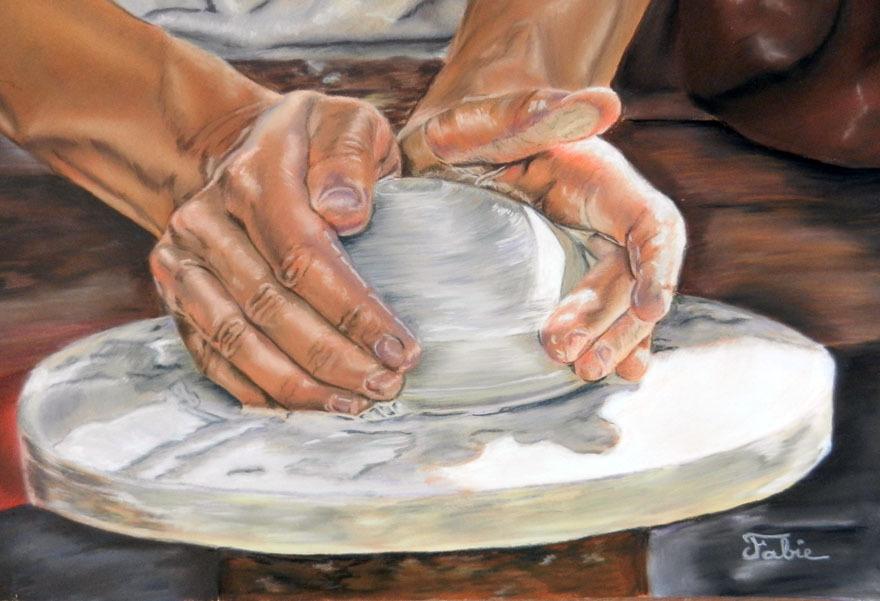 Producteurs et artisans locaux kty poteries cfm - Tour de potier manuel ...