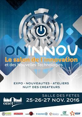 On innov salon des nouvelles technologies partir de for Salon des nouvelles technologies